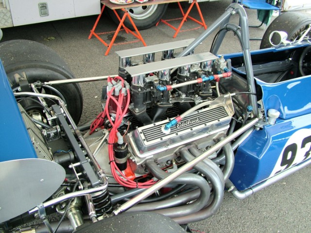 Lola T142 Chevrolet F5000 engine Silverstone Classic 30/07/2005
