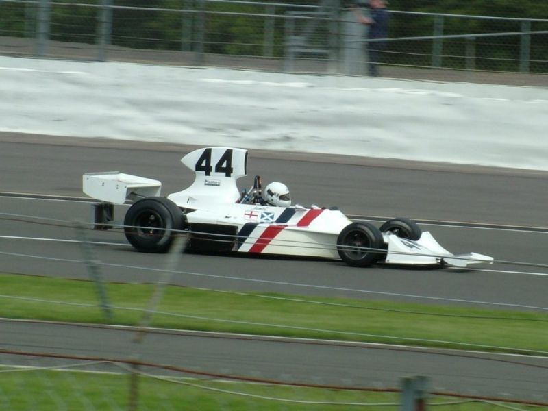 James Hunt Hesketh 308, Silverstone Classic 28/07/2007