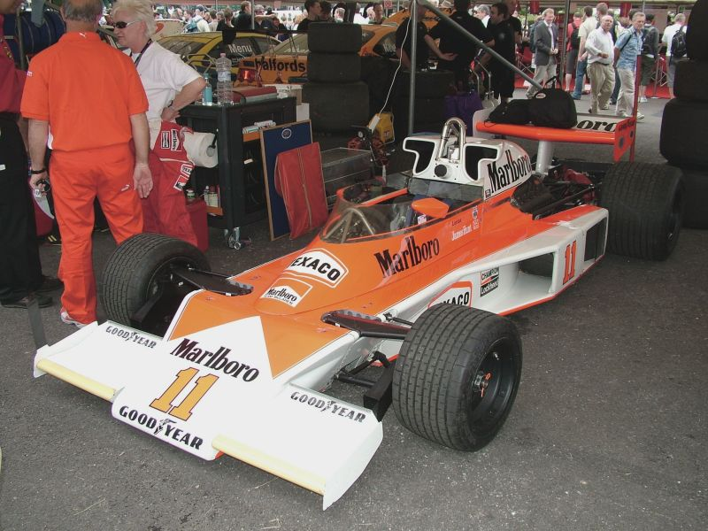 James Hunt McLaren M23, Goodwood FoS 07/07/2006