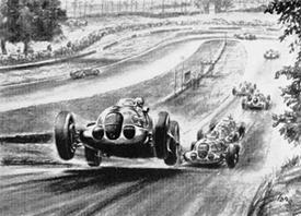 Silver Arrows - Donington 1937