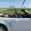Top Down At Beach