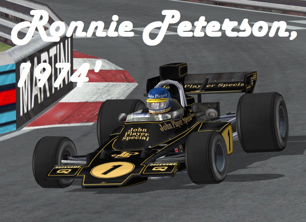 Ronnie Peterson, 1974