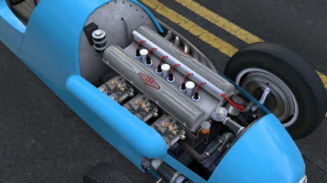 Gordini T15 Engine rside